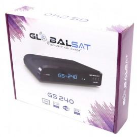 Receptor Globalsat GS 240 Ultra HD (SKS, IKS, Wifi, ACM, H265)