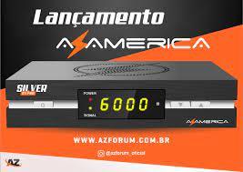 Receptor Azamerica Silver GX PRO 4K Ultra HD com Wi-Fi HDMI