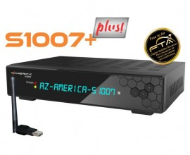 Receptor Digital AzAmerica S 1007 PLUS ACM Full HD e Wifi