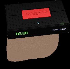 Receptor Audisat K30 Aventador wifi iks sks vod - Lançamento