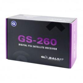 Globalsat GS 260 - ACM, H265, WiFi, 3  - Lançamento 2019