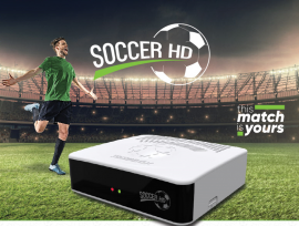 Tocombox Soccer HD - SKS/IKS Wifi - 3 Tunners