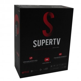 SUPERTV BLACK 4K 1GB RAM 8GB MEM WIFI 4K