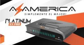 Receptor FTA Azamerica Platinum GX PRO 4K Ultra HD com Wi-Fi HDMI