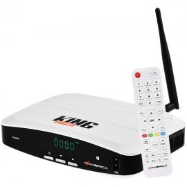 Azamerica King GX PRO 4K Ultra HD com Wi-Fi / USB / HDMI Bivolt