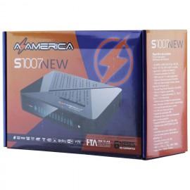 Receptor Digital AzAmerica S 1007 NEW Lançamento