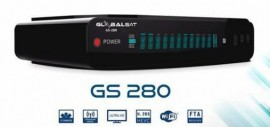 Globalsat GS 280 - ACM, H265, WiFi, 3 Tunners