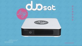 Receptor Digital Duosat Joy HD com adaptador WIFI