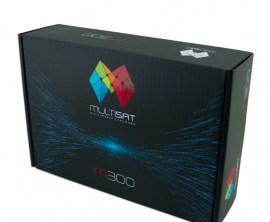 Multisat M300 Full HD - ACM Wifi IPTV HDMI USB