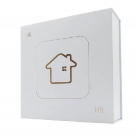 Receptor de Canais via Internet HTV Box 6 + PLUS 16GB - Lançamento